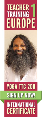Yoga Teacher Training Sweden, Europe with Swami Santhiprasad