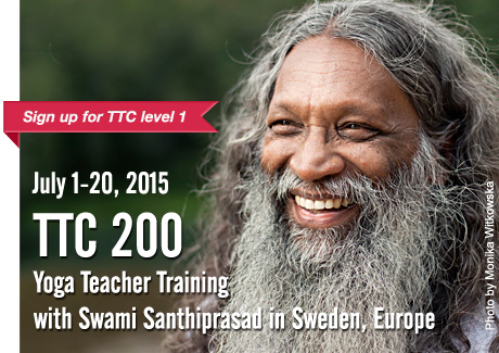 Yoga Teacher Training TTC 200 | with Swami Santhiprasad School of Santhi Yoga Teacher Training School in India and Europe